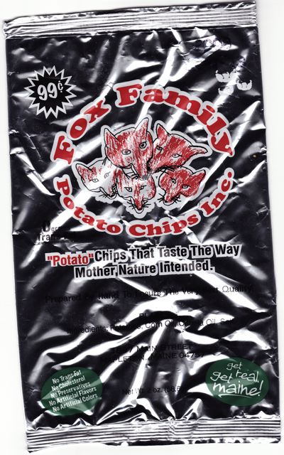 You can almost feel good about eating Fox Family Potato Chips, they're delicious and without any nasty additives.