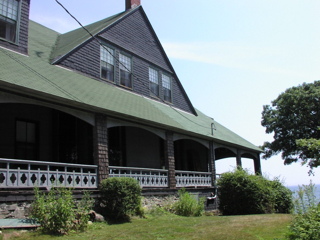 Get away from it all at the Eight Regiment Oceanfront Lodge & Museum, a living history experience on Peaks Island, Maine.