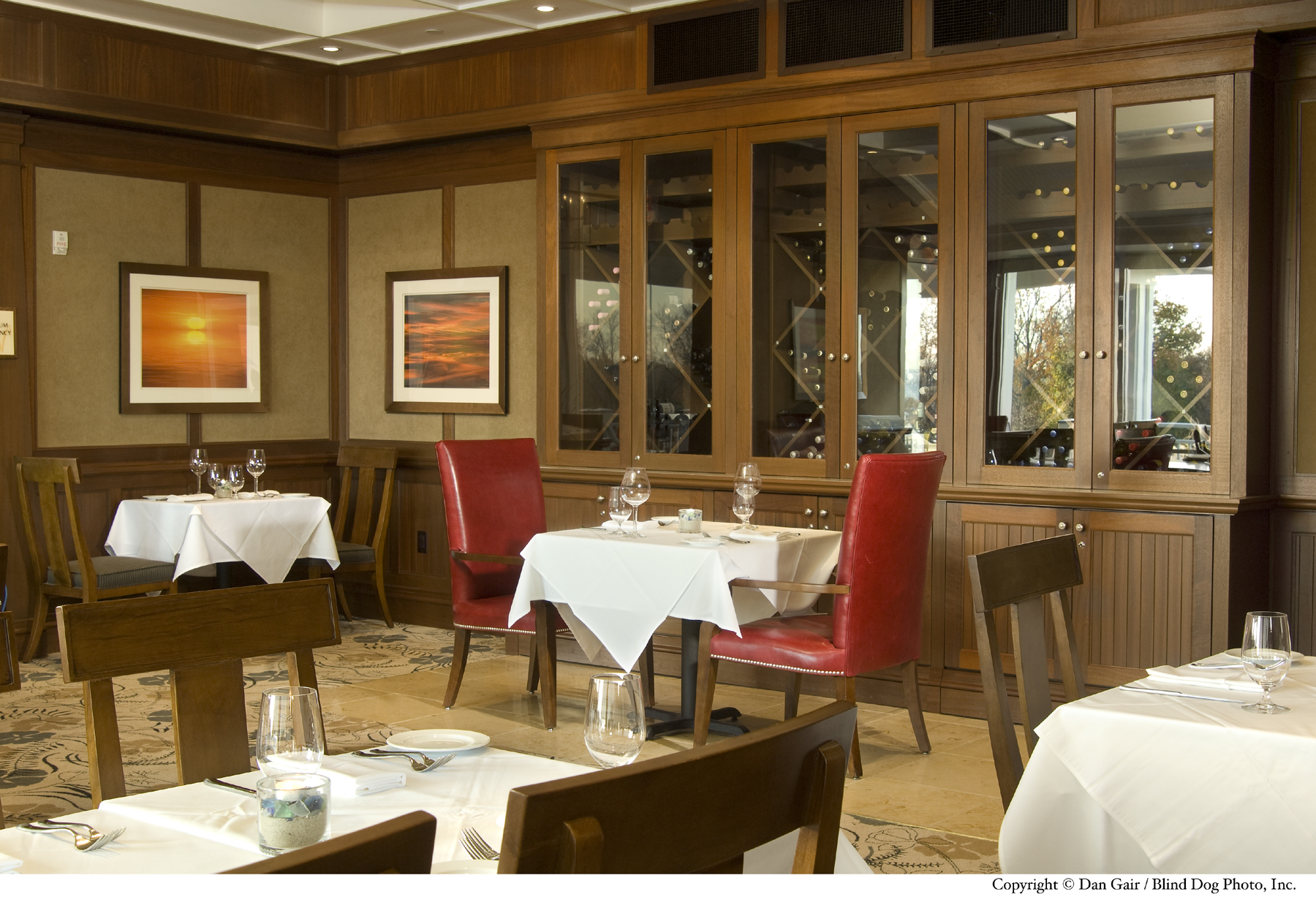 Sea Glass Dining Room