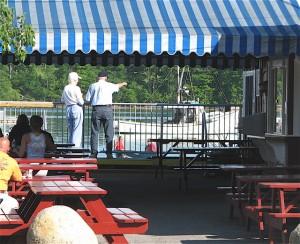 Harraseekett Lunch & Lobster is tucked away in South Freeport. ©Hilary Nangle