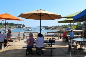 Corea Whaf overlooks dreamy Corea Harbor, near the Schoodic section of Acadia National Park., Maine. ©Hilary Nangle
