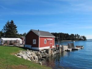 McLoon's lobster shack, Spruce Head, Maine. Hilary Nangle photo IMG_8568