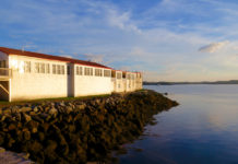 For an authentic seafaring heritage experience, stay at The Inn at the Wharf sited in a former sardine cannery on Lubec's waterfront. ©Hilary Nangle
