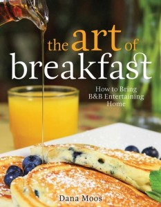 Make breakfasts like those served at the Pomegranate Inn, in Portland, Maine, with innkeeper Dana Moos' new cookbook, The Art of Breakfast.