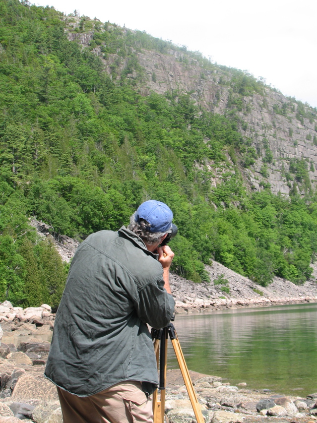 Join Maine Guide Michael Good of Down East Nature Tours, on a birding tour of the Acadia region. ©Hilary Nangle