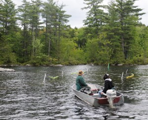Fishing is what first drew visitors to Maine's Belgrade Lakes region, and they still come today, along with families who cherish the easy summer ways. Tom Nangle photo.