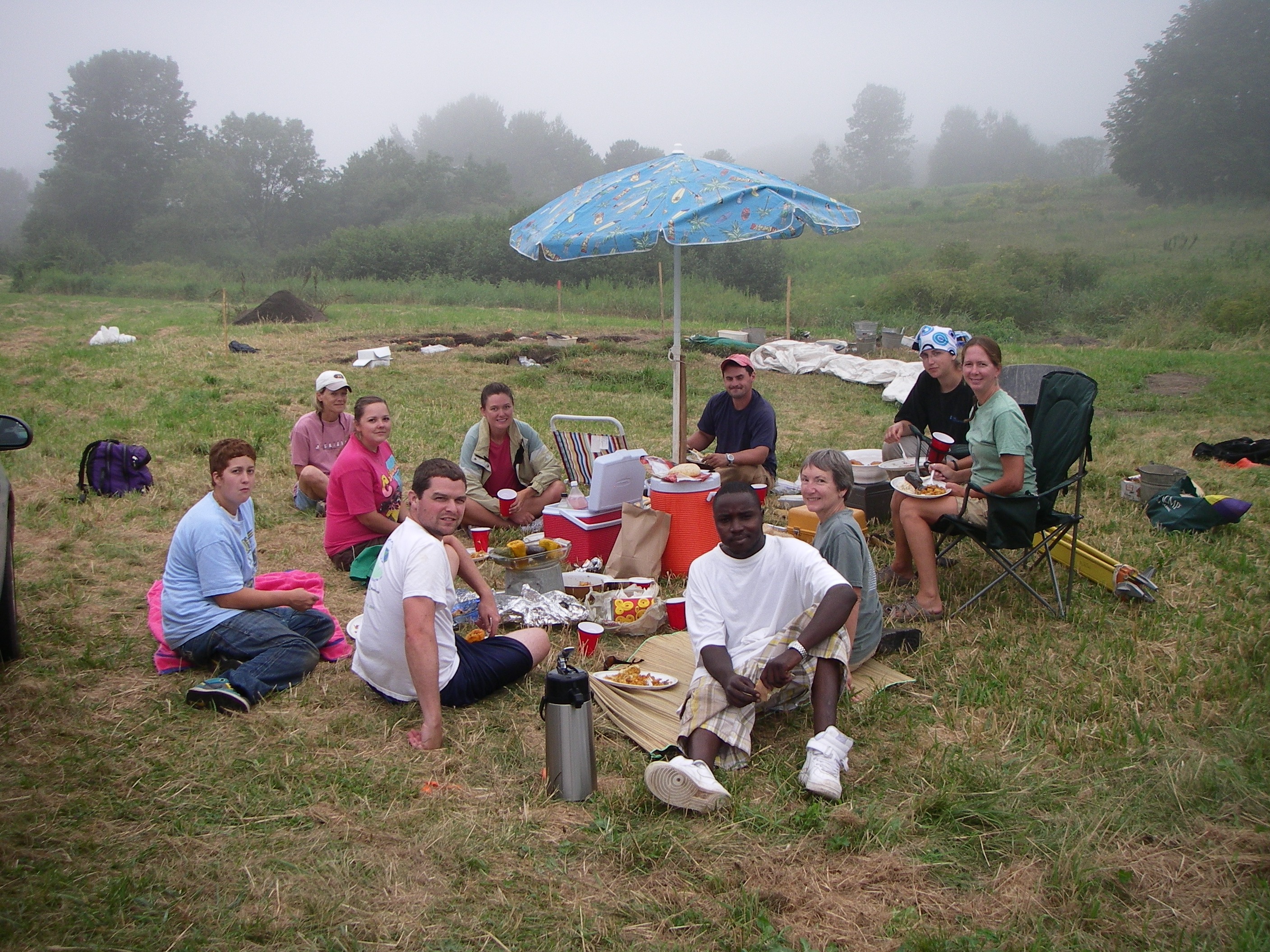 Dig into history than dig into lunch by taking part in an archeological program at Pemaquid Falls, Maine.