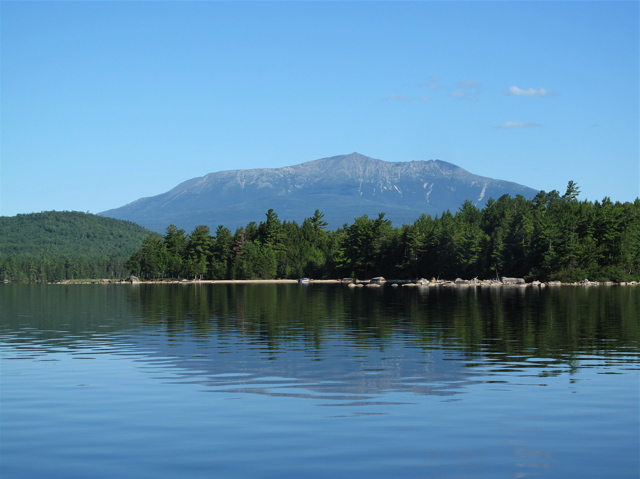 Plan ahead if you plan to hike Katahdin, Maine's tallest peak, especially if you plan to add the Knife Edge connecting Baxter with Pamola Peak. ©Hilary Nangle