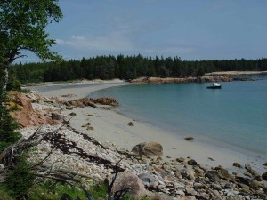Old Quarry Adventures in Stonington, Maine, offers day trips to Marshall Island, which is owned by the Maine Coast Heritage Trust. Photo courtesy Maine Coast Heritage Trust.