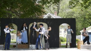 Maine's newest theater company is performing Shakespeare outdoors, free, in Kennebunk