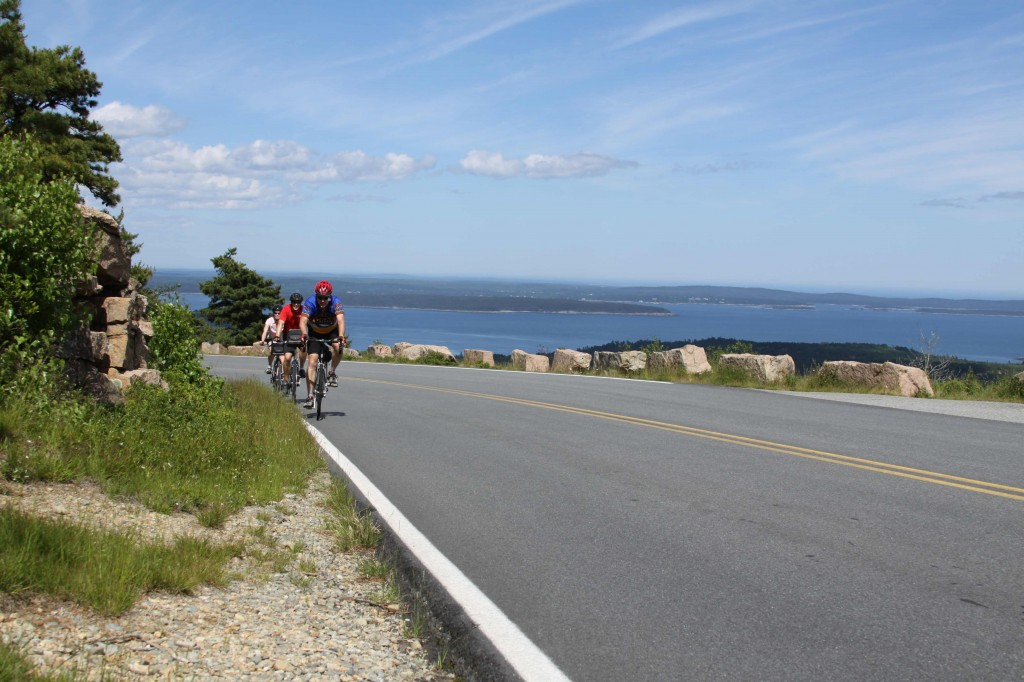 Spend a few days or a week pedaling along the Maine coast and soaking up the vistas with Summer Feet, a Maine-based company offering bicycling tours. Courtesy photo.