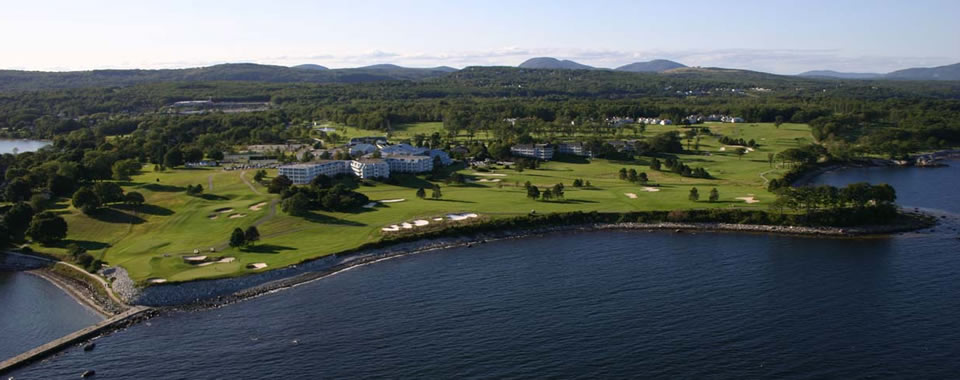 After playing the Samoset's oceanfront course, hoof it out to the Rockland Breakwater or up the Camden Hills, then soak in the new outdoor pool. Courtesy photo.