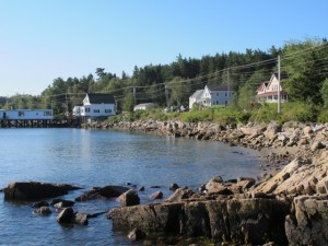 Elsa's Inn is named after Megan's maternal grandmother, and her roots on the Schoodic peninsula go back more than 10 generations. The house next door was her paternal grandfather's home. Hilary Nangle photo.