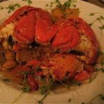 The flavor matched the presentation of the sweet potato gnocchi with Maine lobster at Fathom. Hilary Nangle photo