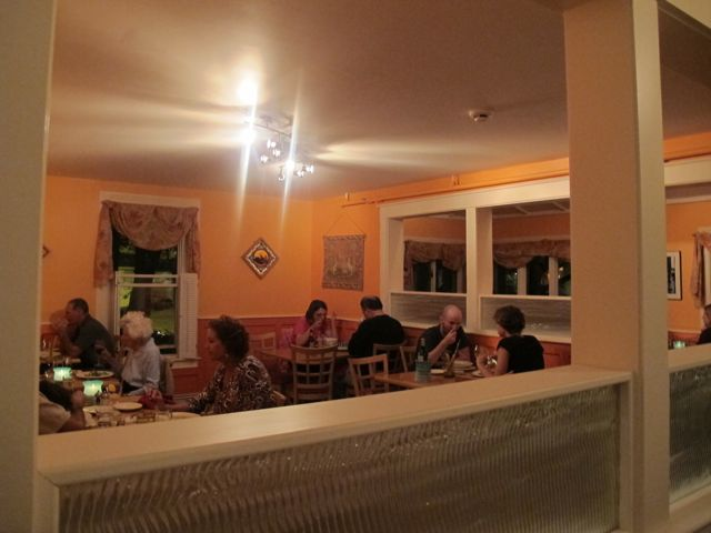 The Dining Areas At Eden A Vegan Restaurant In Bar Harbor Maine Are