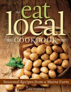 Peruse The Eat Local Cookbook before heading to the market.