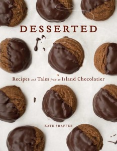chocolate never tasted so good as that created by Kate Shaffer of Black Dinah Chocolatiers on Isle au Haut and shared in her new cookbook Desserted.