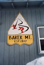 Teach little ones to ski at Baker Mountain, a nonprofit community ski hill in Moscow, Maine. Courtesy image