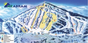 Mount Abram is a family pleasing Maine alpine area.