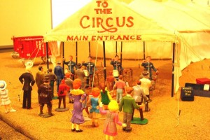 """The Circus Comes to Town"" is in the museum's Main Street Gallery at 40 E. Main St., Searsport. Admission is free. Penobscot Marine Museum photo."