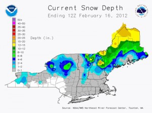 Maine has the snow!