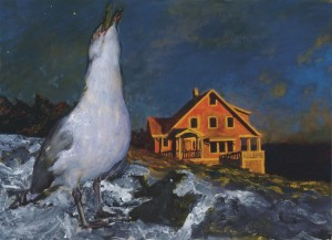 Jamie Wyeth, Rockwell Kent and Monhegan is on view at the Farnsworth Art Museum, Rockland, Maine,  through December 30, 2012.