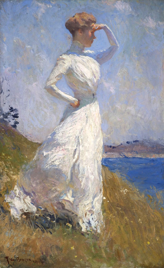 """Impressionist Summers: Frank W. Benson's North Haven"" will be on view at The Farnsworth Museum, Rockland, Maine, in summer 2012."