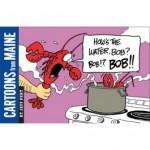 New book captures Maine in cartoons