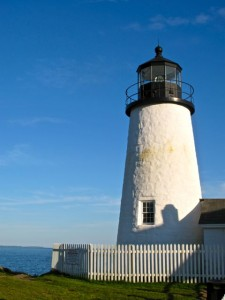 Love lighthouses? Don't miss the Midcoast Maine Lighthouse Challenge, a free event. Hilary Nangle photo.