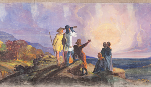 View The Moving Panorama of Pilgrim's Progress at the Saco Museum, Maine.