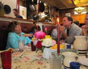 Every meal is special when cruising aboard a Maine windjammer such as the schooner Mary Day. Sheila Grant photo.