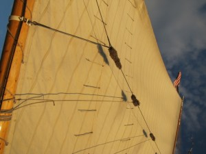 The Camden Windjammer Festival over Labor Day Weekend celebrates Maine's maritime heritage. Sheila Grant photo.