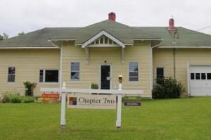 Stop in to Chapter Two, in Corea, Maine, for books, art, or tips on area preserves. Tom Nangle photo.