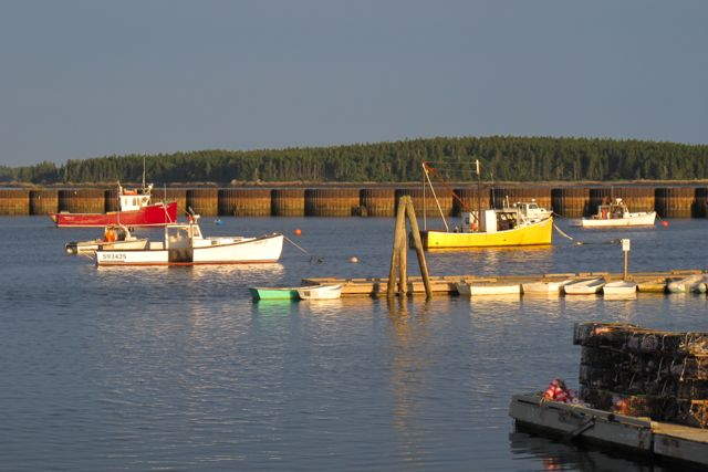 For a taste of the real, ungussied-up Maine, loop down to Jonesport and spend a day or two immersed in a real lobstering village. hilary Nangle photo.