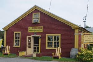 Make time to visit Rayes Mustard Mill in Eastport, Maine. Hilary Nangle photo.
