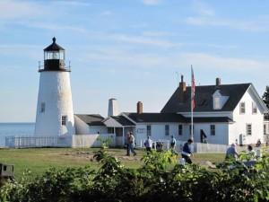 Visit lighthouses along Maine's coast on Maine Open Lighthouse Day. Hilary Nangle photo.