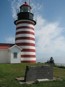 Visit lighthouses along Maine's coast on Maine Open Lighthouse Day. Hilary Nangle photo.