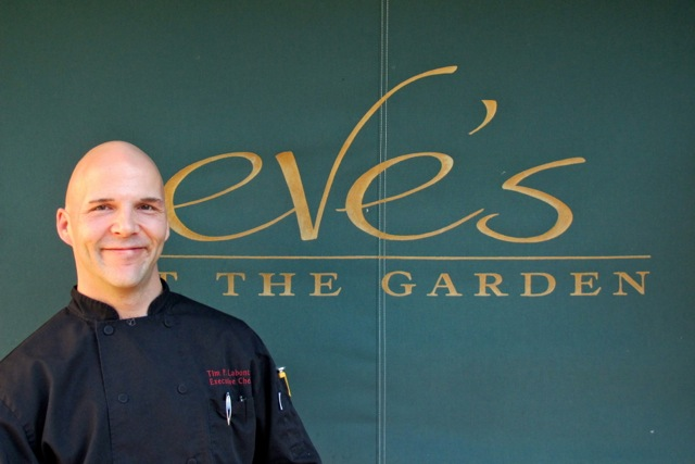Chef Timothy Labonte aims to make Eve's at the Garden one of Portland's best restaurants. Hilary Nangle photo.