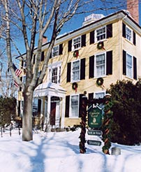 The Captain Lord Mansion in Kennebunkport is offering some enticing specials this winter. Courtesy photo.