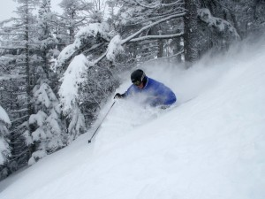 The conditions are primo at Maine's ski resorts. Sugarloaf file photo