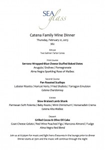 Wine Dinner at the Inn by the Sea