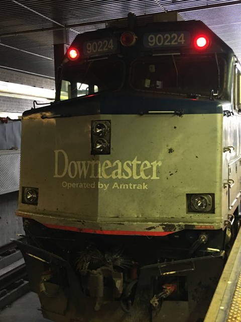 Ride the Amtrak Downeaster between Boston and Maine. ©Hilary Nangle