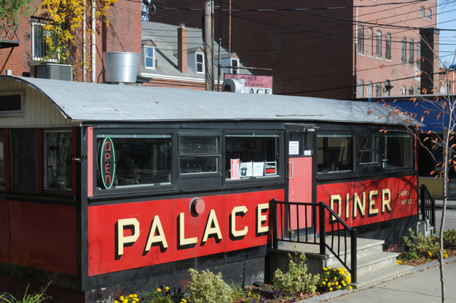 Maine's oldest diner has new chefs at the helm and plans fancy dinners on weekends.. @Hilary Nangle photo