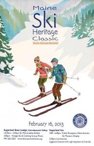 Maine ski heritage classic 2013