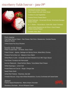 Graze menu for June 19, 2013