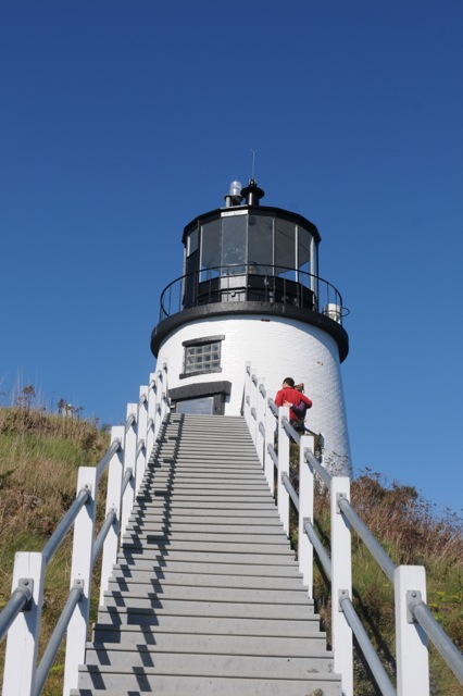 Visit Owls Head Light and the ALF Interpretive Center. Tom Nangle photo