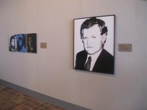 Warhol exhibit at the Ogunquit Museum of Art. Hilary Nangle photo