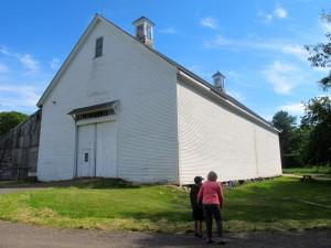 Mallett Barn. Wolfe's Neck, Freeport. Hilary Nangle photoIMG_2355