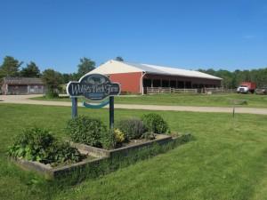 Wolfe's NEck Farm, Freeport. Hilary Nangle photo.