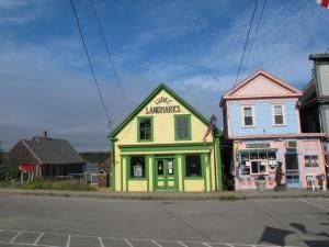 Downtown Lubec. Hilary Nangle photo